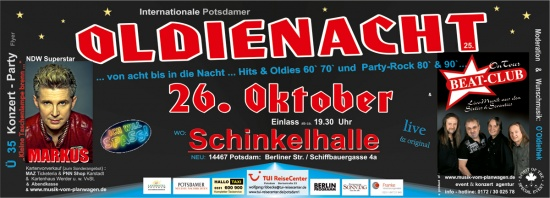 Oldienacht am 26.10.2013